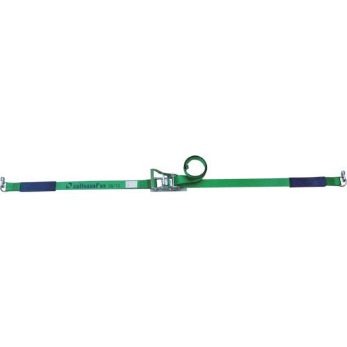 【R5DSR17】allsafe ベルト荷締機エアラインレール用ラチェット式ラッシングベルト(1台)