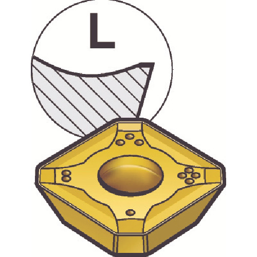 【R24512T3EKLK:K15W】サンドビック コロミル245用チップ K15W(10個)