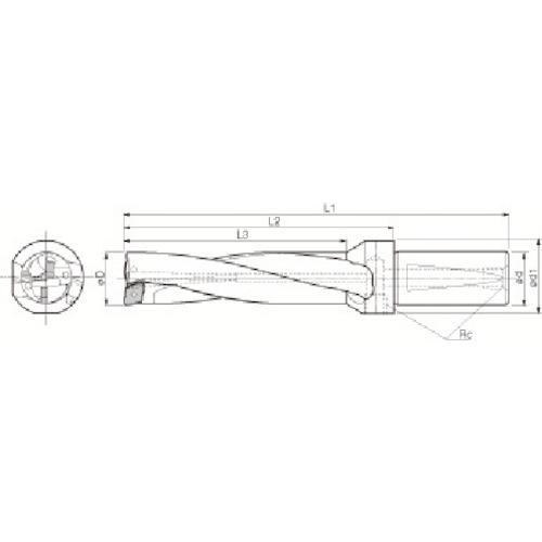 【S32DRZ3714812】京セラ ドリル用ホルダ(1個)
