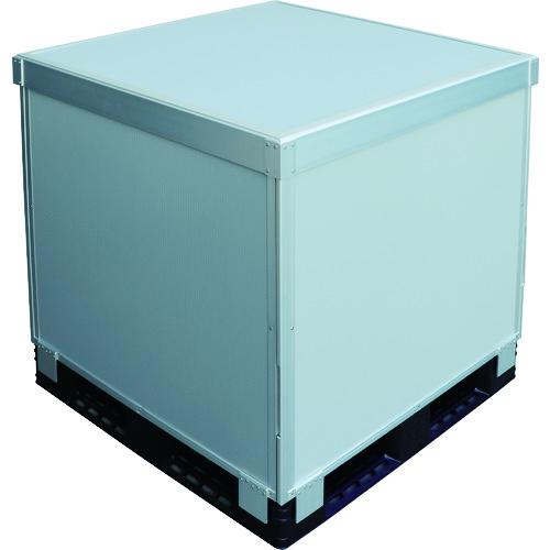 【SCP41190】TRUSCO スタックカーゴ4面パネルタイプ 1100X1100XH900(1S)※下記、注意事項ご確認ください。