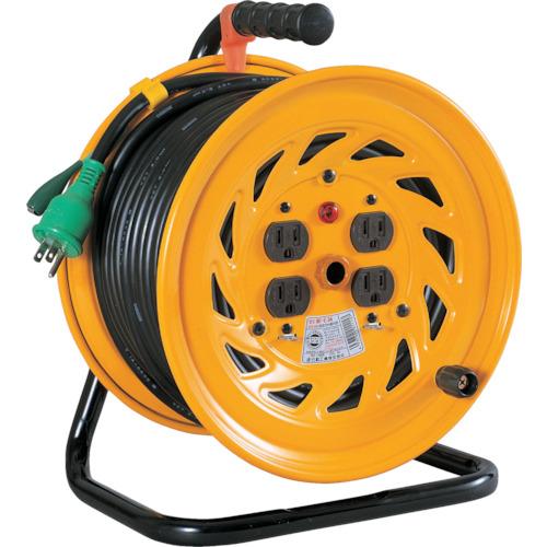 【NFE54】日動 電工ドラム 標準型100Vドラム アース付 50m(1台)