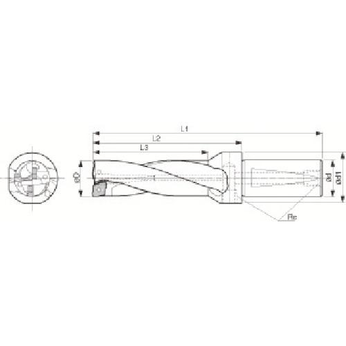 【S25DRZ226608】京セラ ドリル用ホルダ(1本)