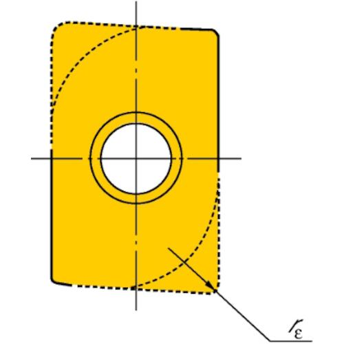【R215.4415T308MWL:235】サンドビック U-Maxエンドミル用チップ 235(10個)