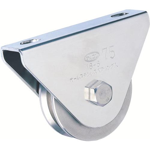 【S300050】MK マルコン枠付オールステンレス重量車 50mm V型(1個)