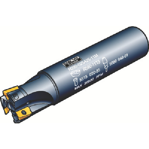 結婚祝い 【R390012A1611L】サンドビック コロミル390エンドミル(1本):機械工具と部品の店 ルートワン-DIY・工具