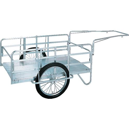 【S8A1】昭和 アルミ折畳みリヤカー(1台)