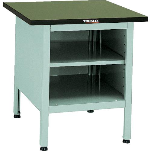 【OW7070B】TRUSCO OW型小型作業台 棚板付 700X700XH740(1台)