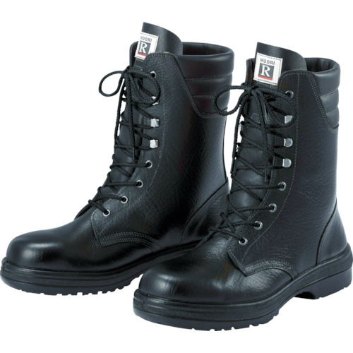 【RT93025.5】ミドリ安全 ラバーテック長編上靴 25.5cm(1足)