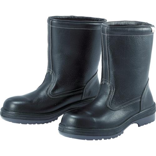 【RT94024.5】ミドリ安全 ラバーテック半長靴 24.5cm(1足)