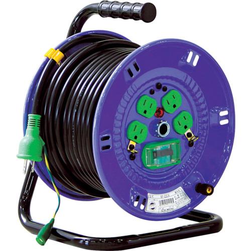 【NPEB34】日動 100V漏電遮断器付電工ドラム(1台)