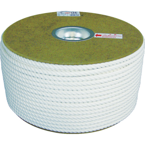 【PRC5】ユタカメイク 綿ロープドラム巻 9φ×150m(1巻)