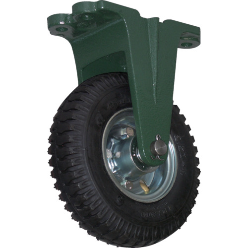 【OARK223】TRUSCO 鋼鉄製運搬車用空気タイヤ 鋳物金具固定Φ223(2.50-4)(1個)