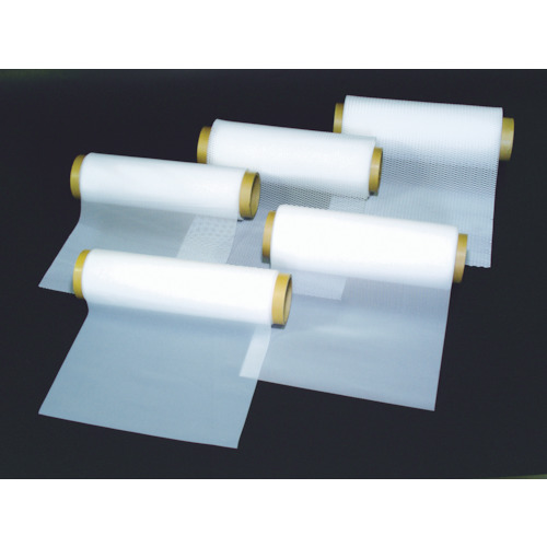 【NR0515004】フロンケミカル フッ素樹脂(PTFE)ネット 4メッシュW600X500L(1巻)