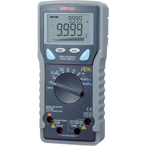 【PC700】SANWA デジタルマルチメータ パソコン接続型(1台)