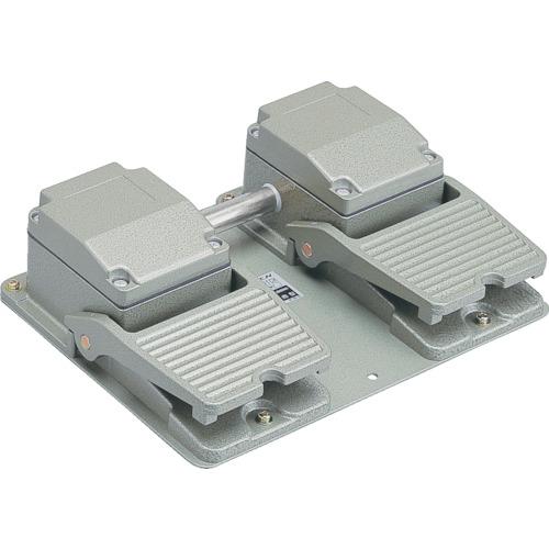 【OFLTWSM2】オジデン フットスイッチ 産業用防雨形 電気定格6A-250VAC (1台)