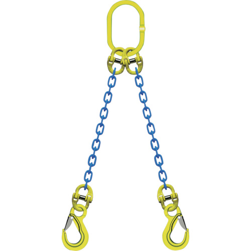 【TA2EKN10】マーテック 2本吊りチェンスリングセット L=1.5m(1S)