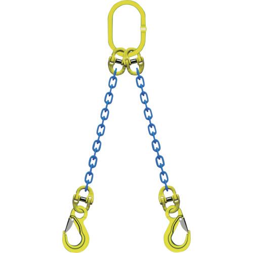 【TA2EKN16】マーテック 2本吊りチェンスリングセット L=1.5m(1S)