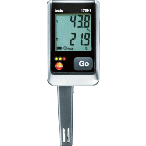 【TESTO175H1】テストー 温湿度ロガNTC・静電容量式内蔵2ch(1個)