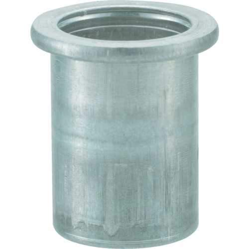 【TBN4M35AC】TRUSCO クリンプナット平頭アルミ 板厚3.5 M4X0.7  1000個入(1箱)