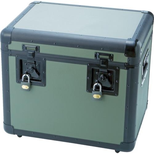【TAC480OD】TRUSCO 万能アルミ保管箱 オリーブドラブ 480X360X410(1個)