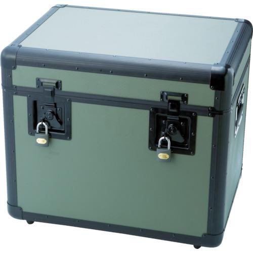 【TAC540OD】TRUSCO 万能アルミ保管箱 オリーブドラブ 543X410X457(1個)