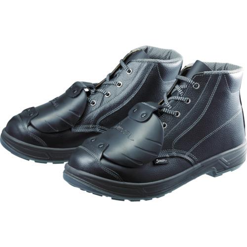 安全靴甲プロ付 編上靴 26.5cm(1足) SS22D-6 【SS22D626.5】シモン