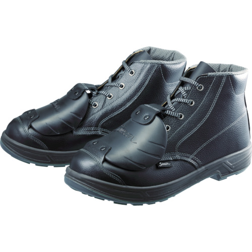 【SS22D627.5】シモン 安全靴甲プロ付 編上靴 SS22D-6 27.5cm(1足)