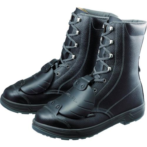 【SS33D628.0】シモン 安全靴甲プロ付 長編上靴 SS33D-6 28.0cm(1足)