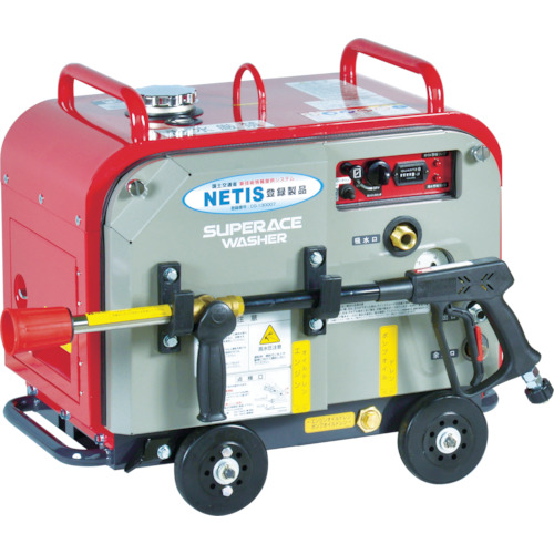 【SEV2108SS】スーパー工業 ガソリンエンジン式 高圧洗浄機 SEV-2108SS(防音型)(1台)