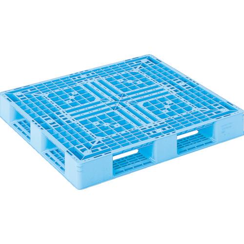 【SKD411123BL】サンコー プラスチックパレット D4ー1112ー3 青(1枚)