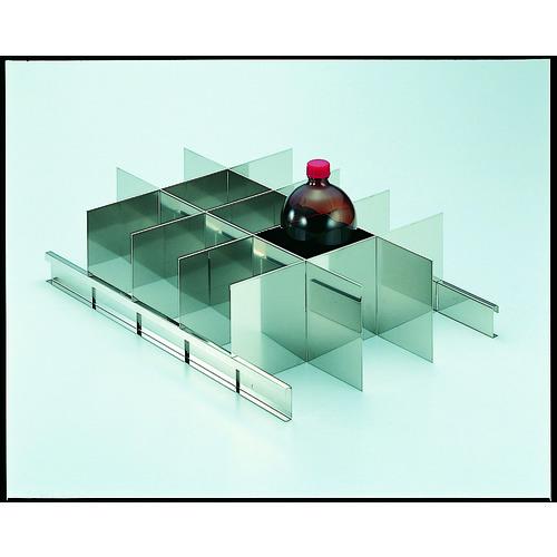 【SY1000SS】TRUSCO 耐震薬品庫 SY型用仕切板セット 1LビンX15本用(1S)