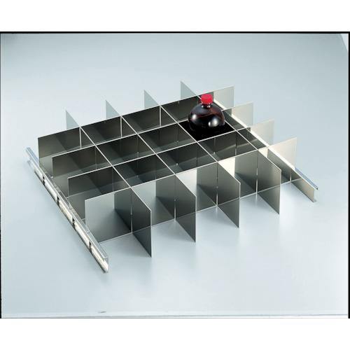 【SYW1000SS】TRUSCO 耐震薬品庫 SYW型用仕切板セット 1LビンX25本用(1S)