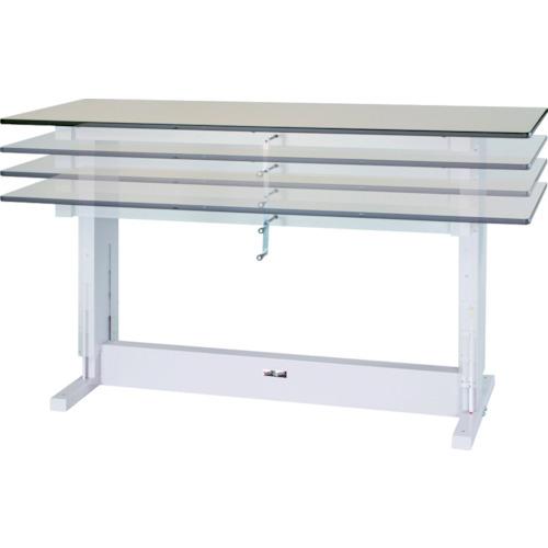 【SSM1890NIP】ヤマテック ワークテーブル昇降タイプ メラミン天板 W1800×D900(1台)