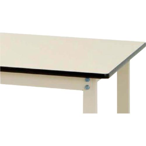 【SWRC1260II】ヤマテック ワークテーブルキャスター付 リノリューム天板W1200×D600(1台)