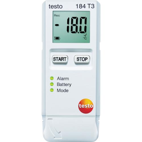 【TESTO184T3】テストー 温度データロガ(1台)