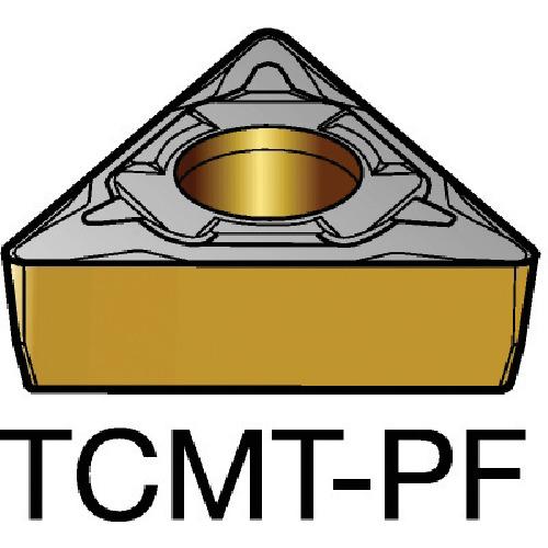 【TCMT06T108PF:5015】サンドビック コロターン107 旋削用ポジ・チップ 5015(10個)