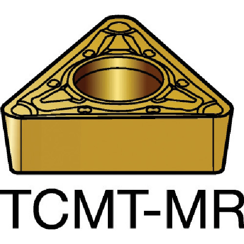 【TCMT220412MR:2035】サンドビック コロターン107 旋削用ポジ・チップ 2035(10個)