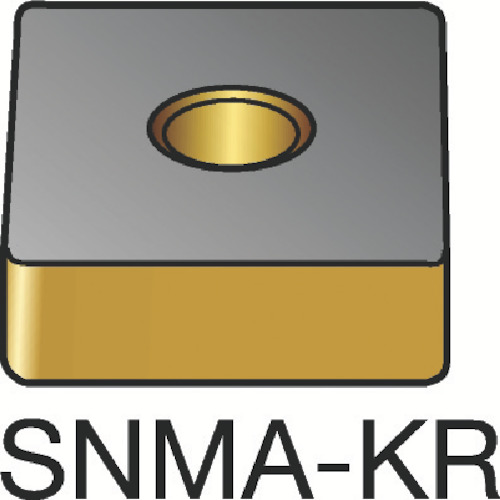 【SNMA120416KR:3210】サンドビック T-Max P 旋削用ネガ・チップ 3210(10個)