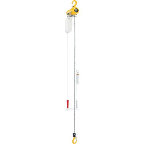 【TCRH04CS】キトー エアホイスト懸垂形(単体:引きひも方式)標準揚程3m(1台)