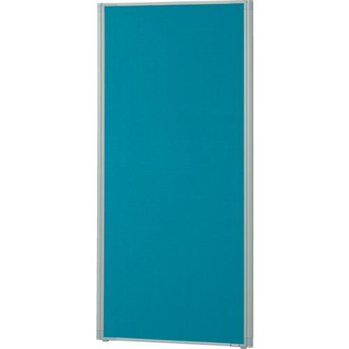 【TLP1506AB】TRUSCO ローパーティション 全面布張り W600XH1465 ブルー(1枚)