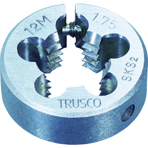 M30×3.5 丸ダイス 63径 【T63D30X3.5】TRUSCO (SKS)(1個)