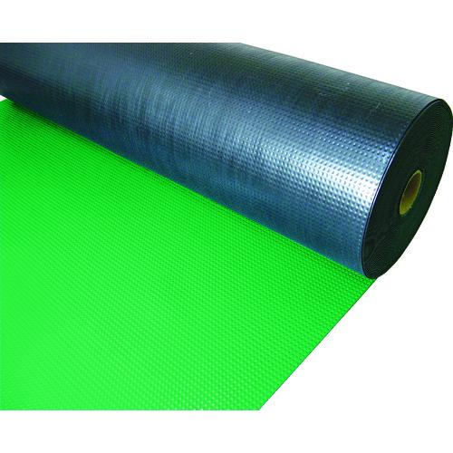 【TEPM920GN】TRUSCO 塩ビマット ピラミッド グリーン 1.5mmX915mmX20m(1巻)