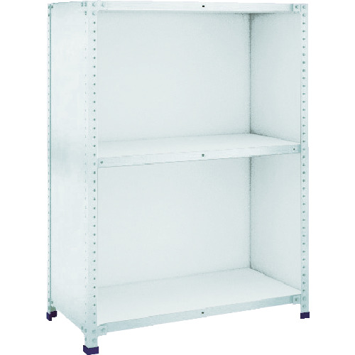 【TLA46L23】TRUSCO 軽量150型背側板付棚 W1800XD600XH1200 3段(1台)