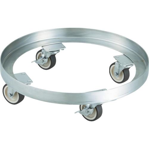 【お買得】 【SDA300SNU】TRUSCO SUS304 A型ドラム缶台車 300L ステン金具 NU車輪(1台):機械工具と部品の店 ルートワン-DIY・工具