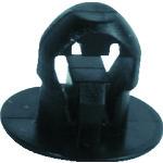 【SUB.3.2301】SapiSelco ケーブルタイ固定具 押込み型 4.5mm 黒 (1000個)(1袋)