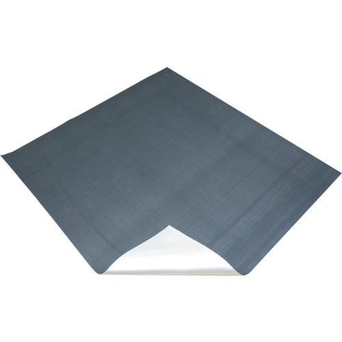 【TFSCKJ1101】TRUSCO 不燃認定シリカクロス 片面樹脂コーティング 110cmX1m(1枚)