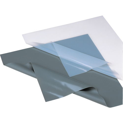 【TG50H100T】イノアック シリコーンゴム 絶縁・耐熱シート 灰 1.0×500×500(1枚)
