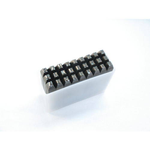 【SKA80】TRUSCO 英字刻印セット 8mm(1S)