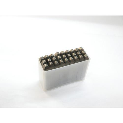 【SKC25】TRUSCO 逆英字刻印セット 2.5mm(1S)