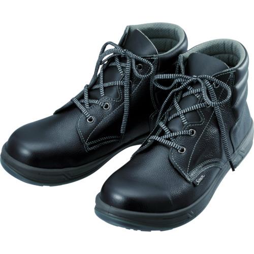 【SS2223.5】シモン 安全靴 編上靴 SS22黒 23.5cm(1足)